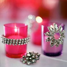 Simple Candle Embellishment