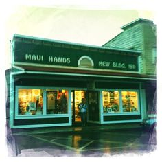 Maui Hands - where you can find Maui Arts. MUST go here!!