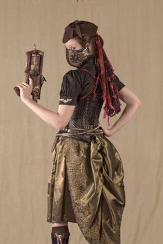 steampunk + corset @Leah Sutherland I know you were wondering about this kind of fashion the other day