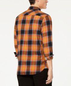 Casual Shirts Precise Men Fashion Turn Down Collar Short Sleeve Plaid Shirt Great Varieties