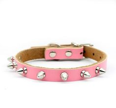 Enjoying Puppy Dog cat Doggie Cats Leather Collars Necklaces -Extra Small and Red *** Remarkable product available now. : Cat Collar, Harness and Leash