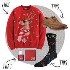 10 Looks That Will Land You Under The Mistletoe Holiday and Hipster Christmas Holidays, Christmas Gifts, Christmas Ideas, Under The Mistletoe, Deck The Halls, Cool Gifts, Lacoste, Hipster, Decking