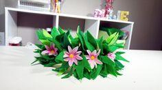 DIY Flower Headband from Moana | DIYwithOllie.com | DIYwithOllie.com - Easy Crafts for Kids