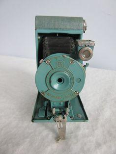 Groene Kodak Petite 127 camera 1929-1934