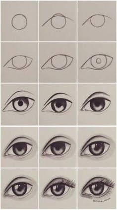 Step by step eye tutorial eyetutorial tutorial eye drawing otherpwHow to draw an eye~ This was done with alcohol markers, but could really be done with any material.Eye Tutorial by Drawing Tutorial for Occasional ArtistsPaigeeWorld is a community for Easy Drawing Tutorial, Eye Drawing Tutorials, Easy Drawing Steps, Eye Tutorial, Art Tutorials, Easy Eye Drawing, Realistic Eye Drawing, How To Draw Realistic, Sketches Tutorial