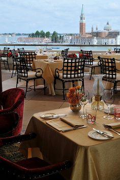 Hotel Danieli, Venice--Restaurant Terrazza Danieli-view