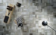 Cemento, pietra, metallo e legno di recupero