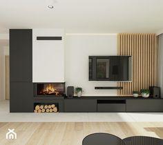 Modern Fireplace, Living Room With Fireplace, Fireplace Design, Living Room Ideas 2020, Living Room Tv Unit Designs, Living Room Interior, Living Room Decor, Elegant Living Room, Modern Kitchen Design