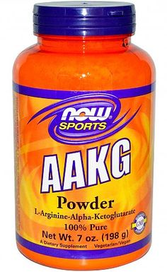 Now Sports AAKG Powder - Important in helping to rid the body of excess ammonia, as well as protein synthesis and healthy immune system function!