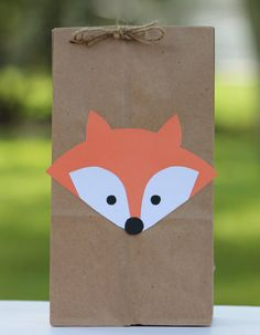 Fox Birthday Party Woodland Party Fox Woodland by SparkleMyParty