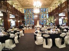 This is a shot from the Clubhouse on Baltimore in Kansas City, MO.. It is absolutely breathtaking and reasonably priced... at the top of my venue list for a reception at this point