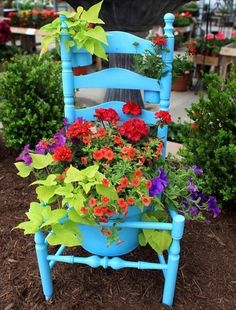 Flower bed ideas.