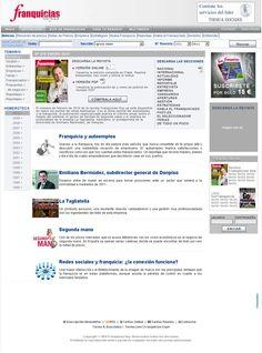 El portal aporta las herramientas más útiles y la información más completa para aquellos interesados en hacer negocios     Una web con la última tecnología para todos los interesados en la franquicia.