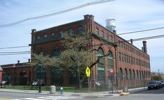 Thomas Edison invention factory building as it appears today