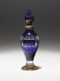 """1947 Baccarat Christian Dior Perfume Bottle for """"Miss Dior"""