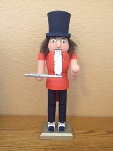 CLICK HERE TO PURCHASE from CustomNutcrackers.com. Get this unique Flute Player…