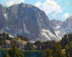 Edgar Payne ­- I buy Edgar Payne oil paintings.