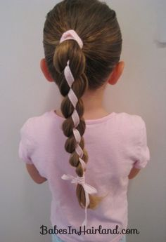 4 Strand Braid with Ribbon In It #2 (4)