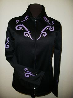 Custom western horse show clothes; shirts, jackets, and vests. Quality that's affordable. website: www.westernshowwear.com