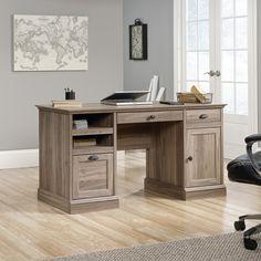 Sauder Barrister Lane Executive Desk   from hayneedle.com