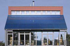 Esthetische energie: energiedak met zonnepanelen