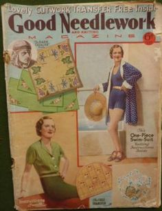 Good Needlework and Knitting Magazine - July, 1935