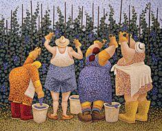 Lang Desktop Wallpapers | July 2015 | Herrero's Harvest Comic Kunst, Comic Art, Renoir, Plus Size Art, Primitive Painting, Arte Country, Wine Art, In Vino Veritas, Arte Popular