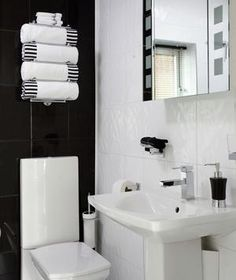 15 Great Bathroom Design Ideas | Transform a small space with easy and inspiring decorative tricks.