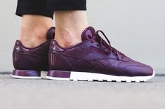low cost 93658 0f6ee Reebok Classic Leather Matte Shine pack