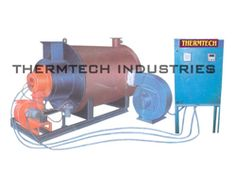 Oil or Gas Fired Direct Fired Hot Air Generator