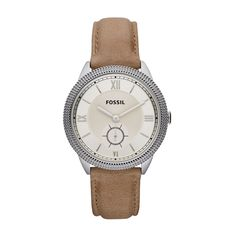 Fossil Sydney Leather Watch – Sand