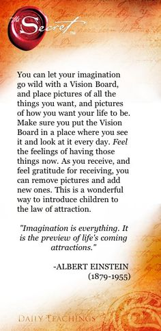 Law of Attraction - Visualise