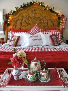Christmas In The Bedroom ~ #christmas por sarahx