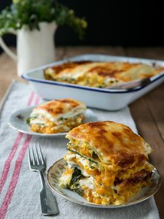 Lasagna with Pumpkin and Sage-Infused Béchamel