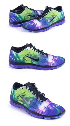 $199.99 - Nike Womens Free 5.0 Tr Fit 5 Black Volt Violet Persian Sneaker #shoes #nike #2016