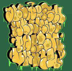 Graffiti Designs, Graffiti Alphabet Styles, Graffiti Lettering Alphabet, Graffiti Writing, Tattoo Lettering Fonts, Graffiti Font, Graffiti Tagging, Graffiti Characters, Graffiti Styles