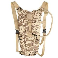 6 Colors 3L Tactical Outdoor Hiking Climbing Hydration System