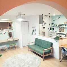 Home Room Design, Small House Design, Home Interior Design, Living Room Designs, Living Room Decor, Bedroom House Plans, House Rooms, Pinterest Room Decor, Small Apartment Interior