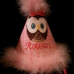 Owl Birthday Hat