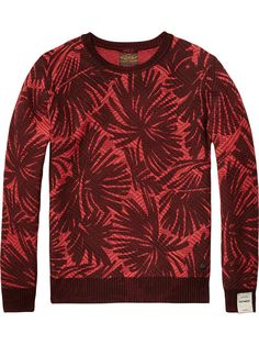 All-Over Printed Pullover   Pullovers   Men Clothing at Scotch & Soda