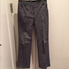 100% cotton Jcrew trouser, P0 Excellent condition, ink type color great for warm weather. J. Crew Pants Trousers