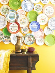 Cool plate collection display