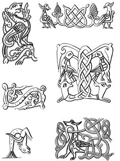 keltische muster antikes alte russische ornamente vektor satz kost me pinterest keltische. Black Bedroom Furniture Sets. Home Design Ideas