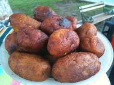 rellenitos... plantain wrapped deliciously around black beans cooked with sugar and cinnamon. sunday treat
