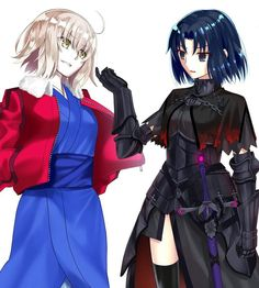 Ryougi Jeanne & Shiki Alter