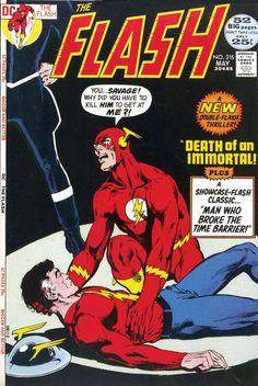 Cover of Flash featuring Barry Allen and Jay Garrick Flash by Neal Adams. Dc Comic Books, Comic Book Artists, Comic Book Covers, Dc Comics, Flash Comics, La Pieta, Comic Art Community, Silver Age Comics, Classic Comics