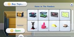 Mod The Sims: Toy Box Stores Collectibles by egureh • Sims 4 Downloads