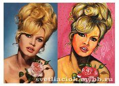 Brigitte Bardot #Art #BrigitteBardot  #portrait #svetliaciok #BrigitteBardotArt   #бриджитбардо #портрет #рисунок