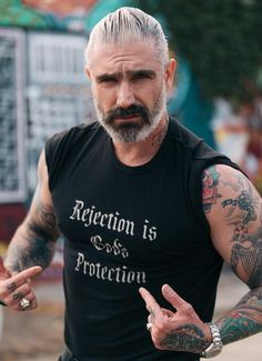 Sheehan & Co. Rejection Is God's Protection Tee