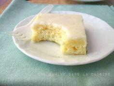une gamine dans la cuisine: Lemon Brownies